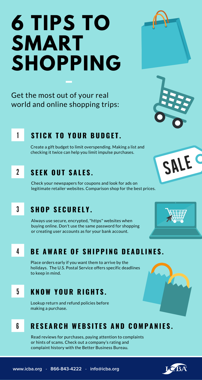 6 Tips to Smart Shopping