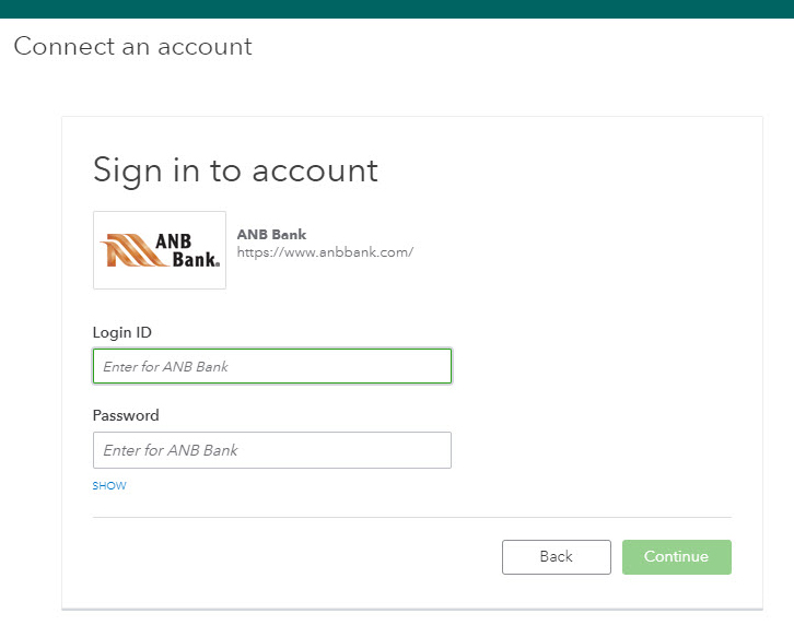 sign in to account