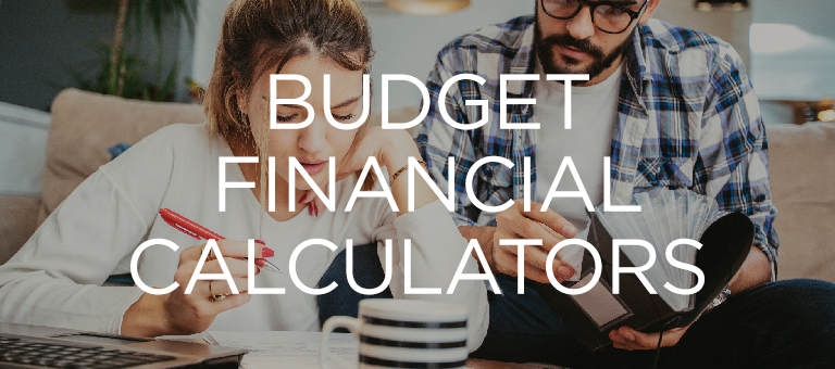 Budget Financial Calculators
